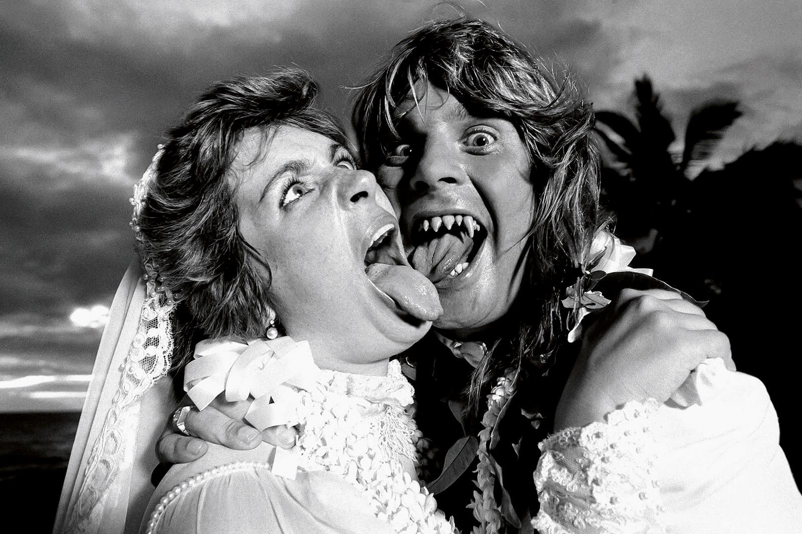1982. Оззи и Шарон Осборны