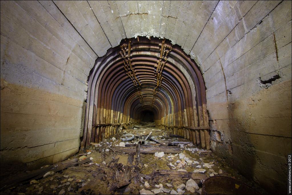 Технологический тоннель (штольня)