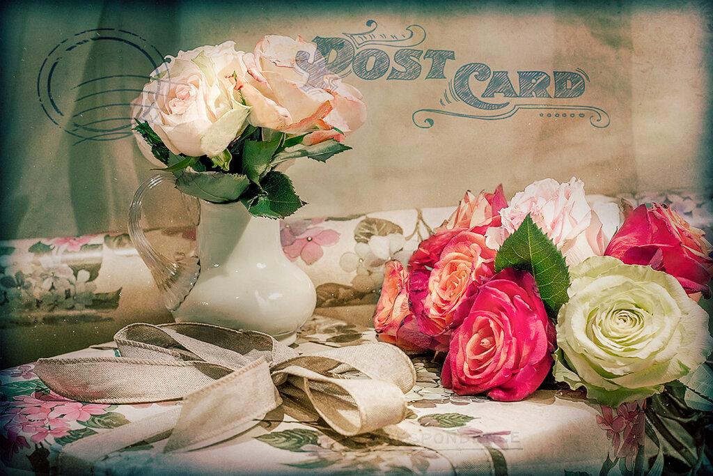 Вам открытка...