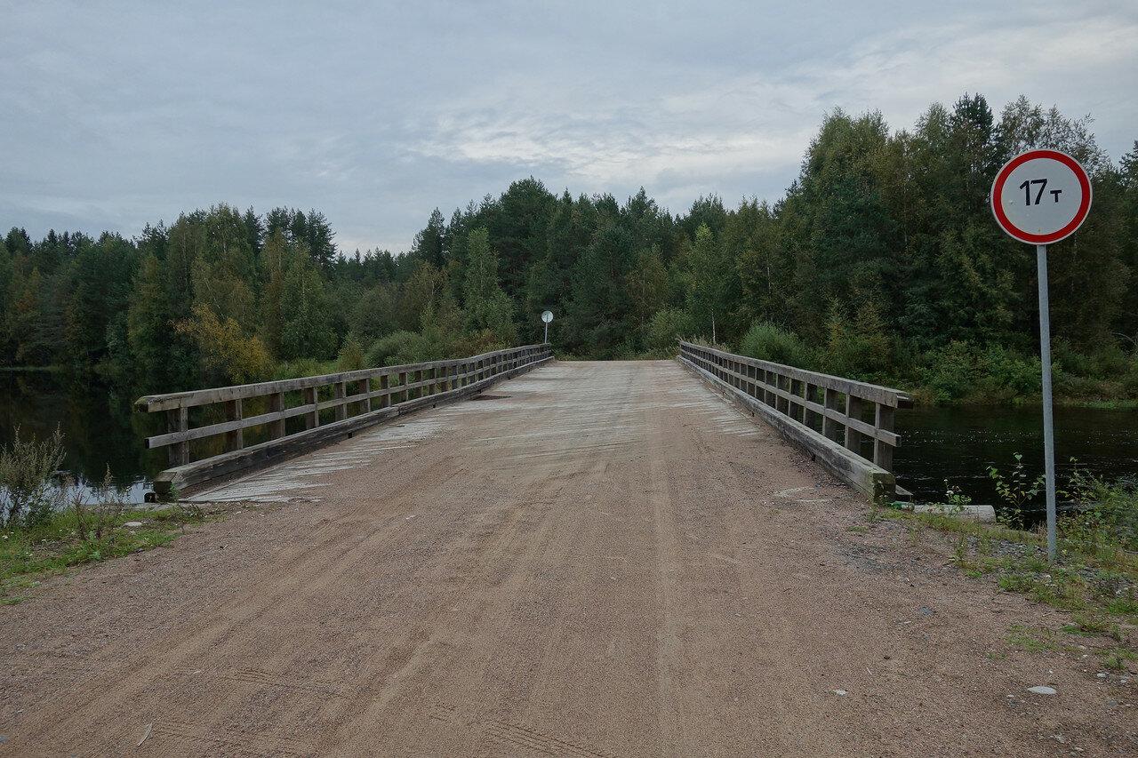 типичный карельский мост