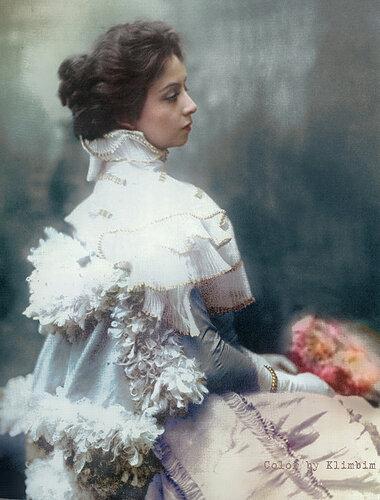 Вера Комиссаржевская, 1907