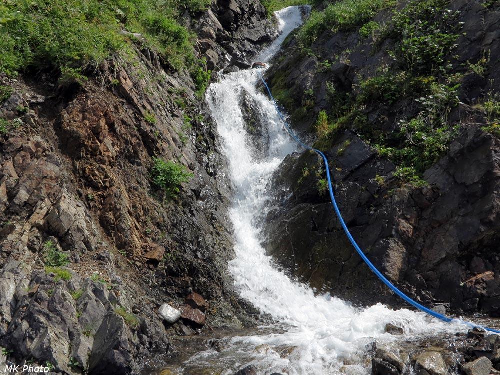 Водопад на р. Водопадная