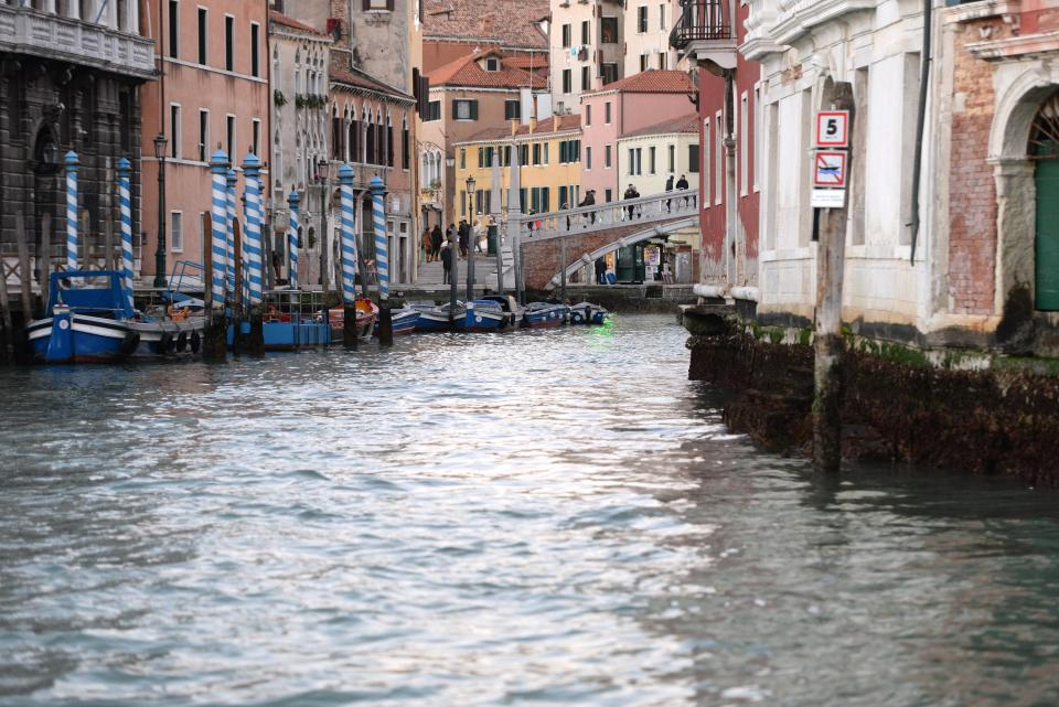 Отлив в Венеции