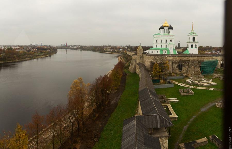 alexbelykh.ru, Псковский Кремль, Кремль Псков, Власьевская башня, Троицкий собор