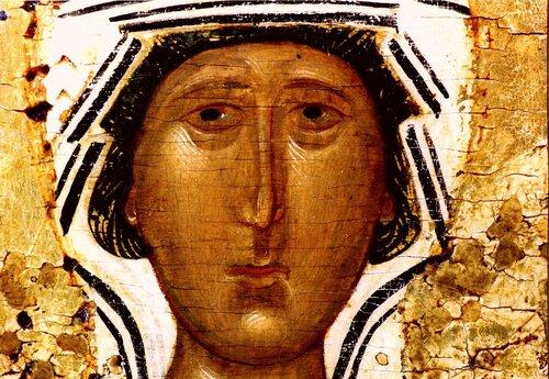Святая Великомученица Параскева Пятница, с житием. Икона XVI века.