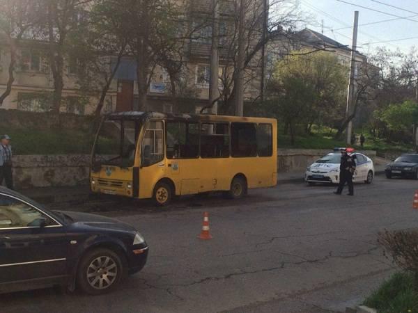 В Севастополе горел популярный торговый центр
