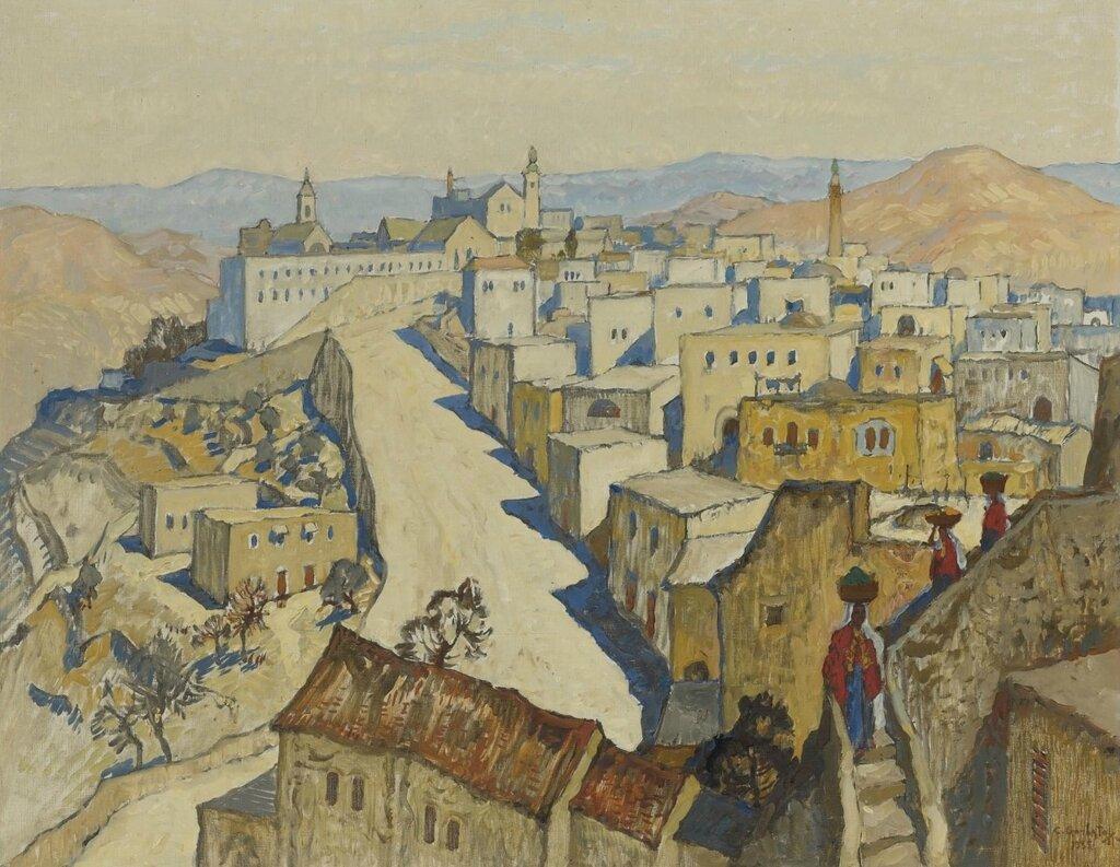 Вифлеем. 1935Холст, масло. 73 x 91 смЧастное собрание