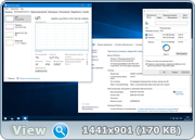 Windows 10 Enterprise 2016 LTSB 14393.594 x86-x64 RU-RU PIP 2x1