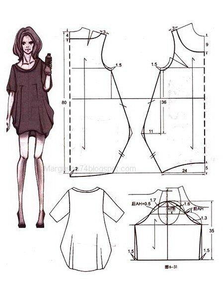 Платье бохо шить легко и просто без выкроек