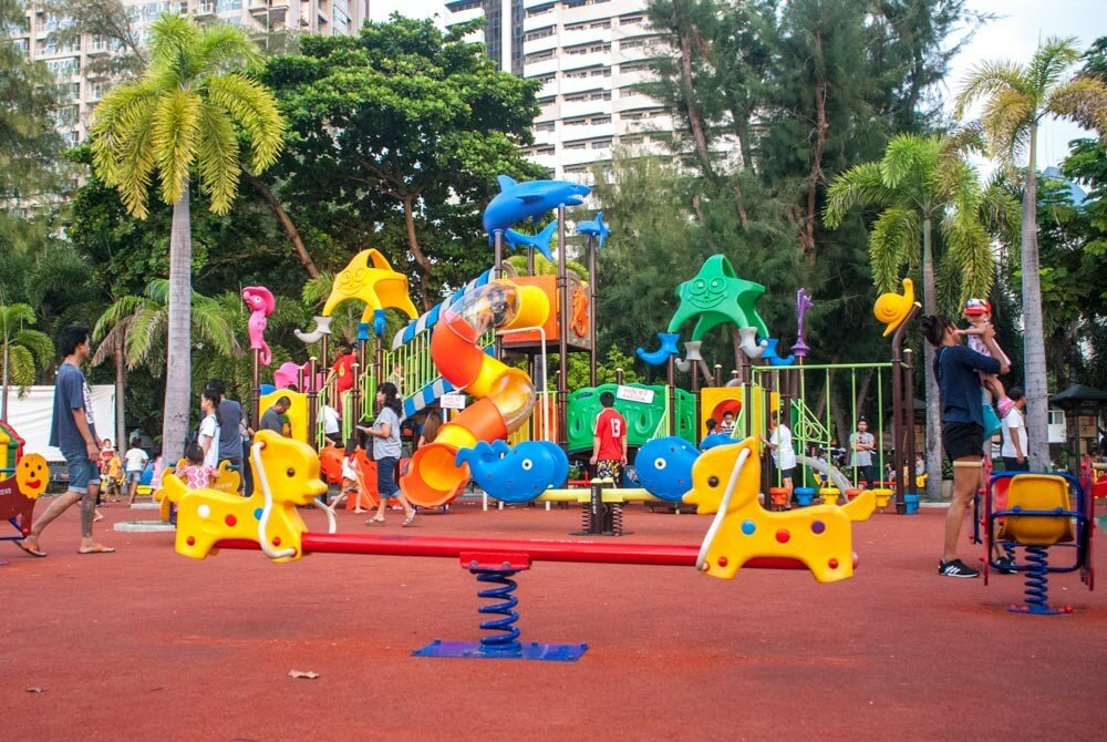 Детская площадка в Паттайе