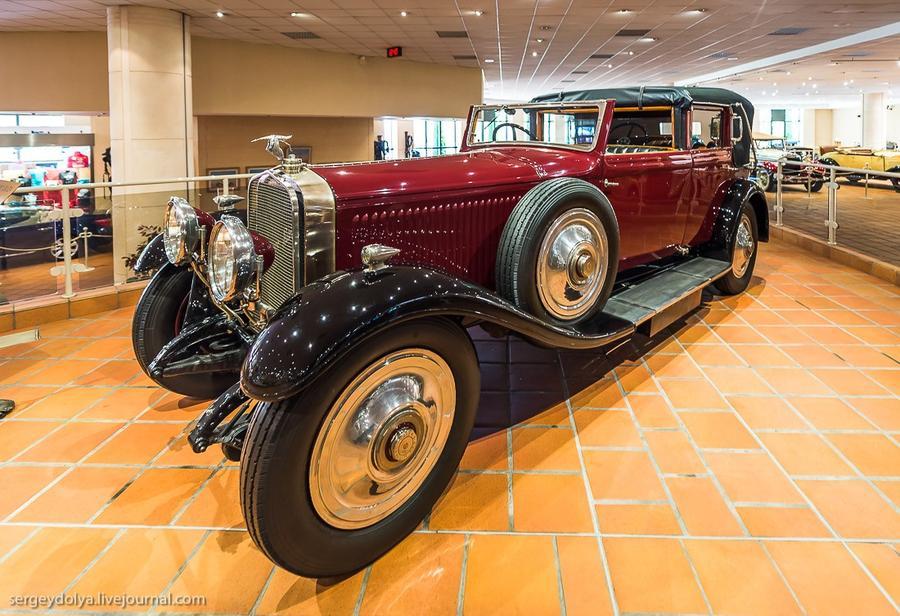 23. Hispano Suiza 1928 года. Необычная машинка.