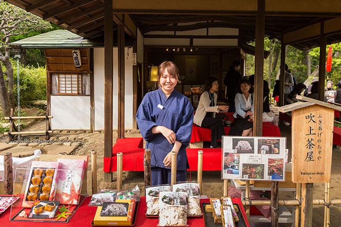 Тонкое чувство прекрасного у японцев проявляется во всем.Чашка зеленого чая и пирожное – уже пр
