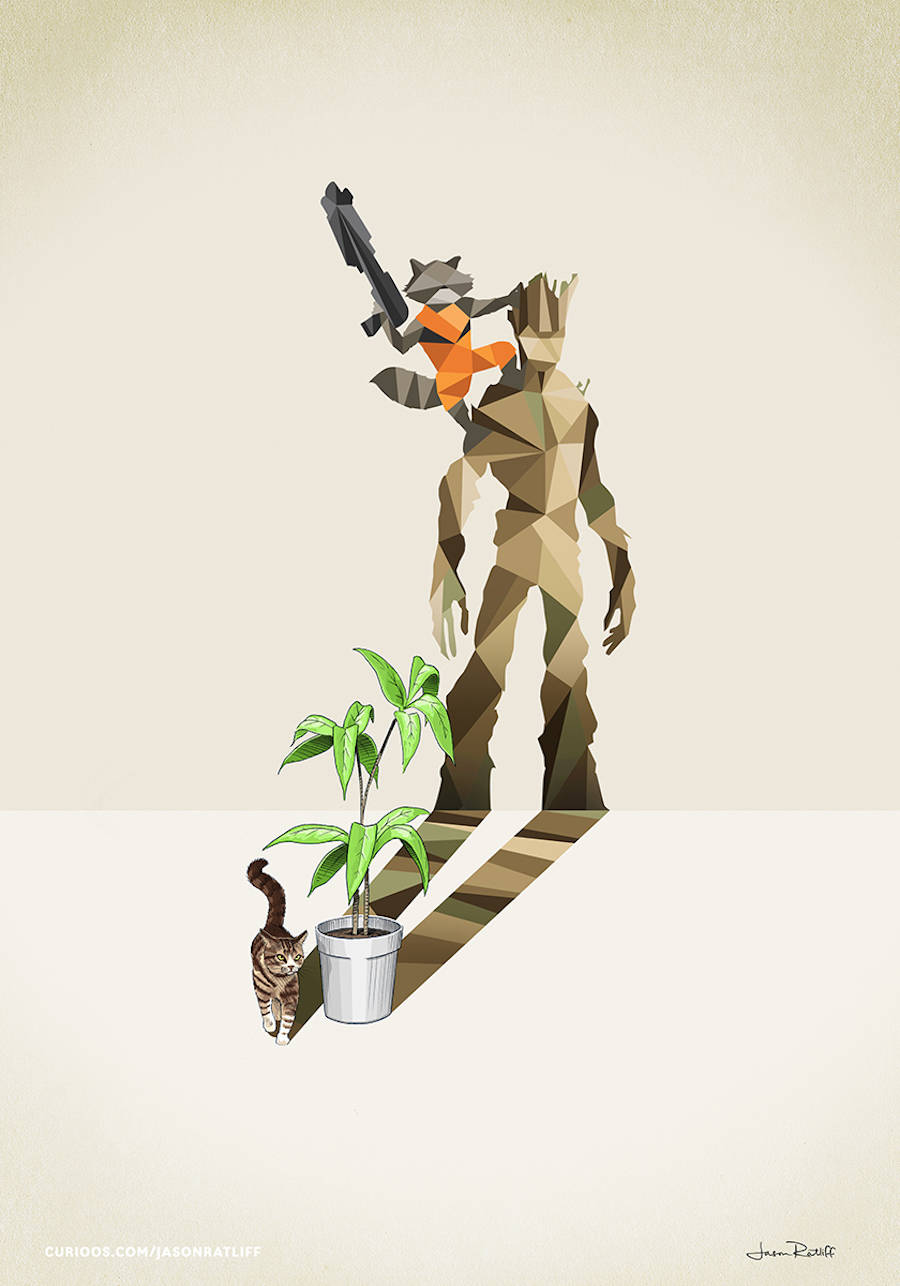 Дети-супергерои в иллюстрациях Jason Ratliff
