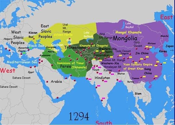 Чингисхан был неглуп, и знал, что без его руководства империя вряд ли сумеет сохранить свои разм