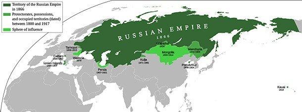 Российская империя была мощным государством, просуществовавшим (официально) с 1721 года до своег