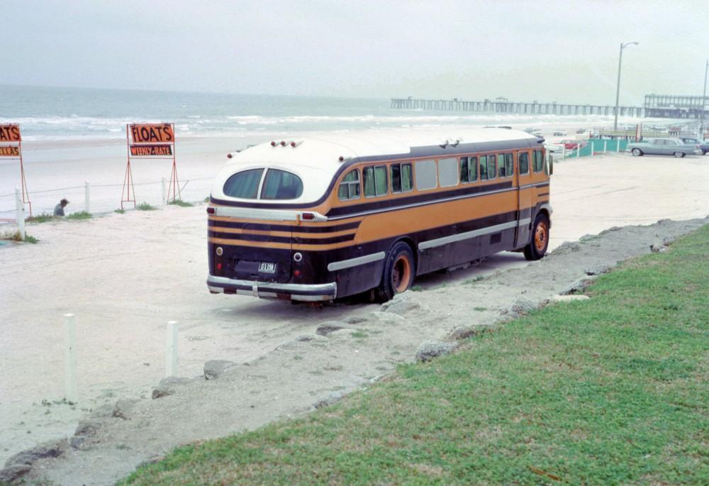 Остановка во время путешествия по Пенсильвании, 1963 год.