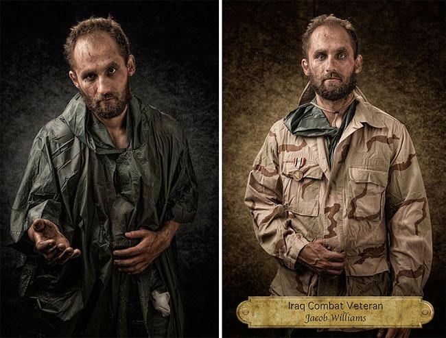 Джейкоб Уильямс, ветеран войны в Ираке.