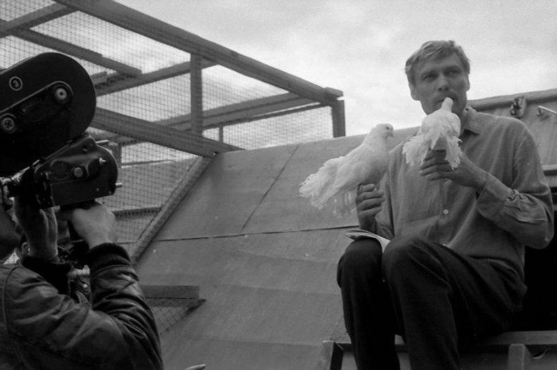 3. Армен Джигарханян с сыном. 3 сентября 1974 года. Фото Е. Дон/ РИА Новости