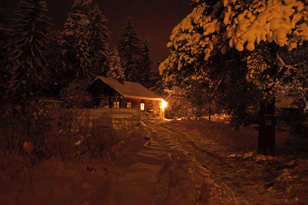 28. По пути сделал небольшую остановку на реке Вуокса в Ленинградской области, которая на мороз