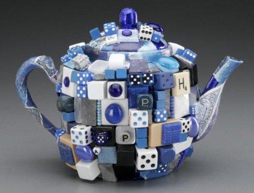 2. Сапфировый заварочный чайник от Дональда Кларка Для создания своего необычного чайника Дональд Кл