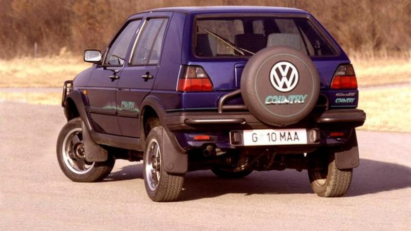 Volkswagen Golf Country '1990–1991 В городе автомобиль не так полезен, его стихия &ndash
