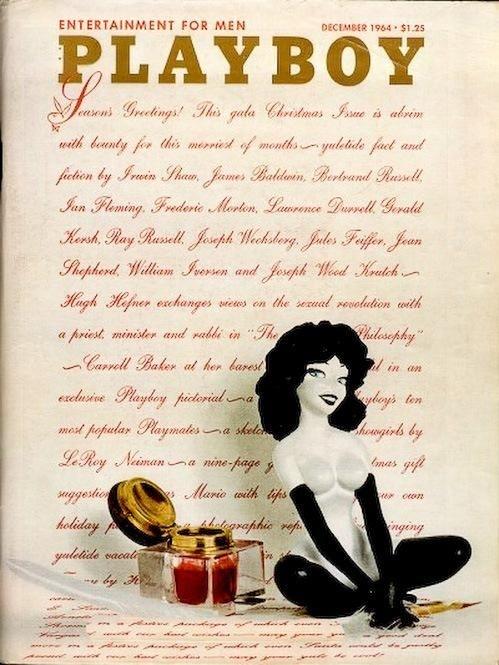 1966 год. В этом номере на развороте (и на обложке, естественно) появилась Сьюзан Бернард, котор
