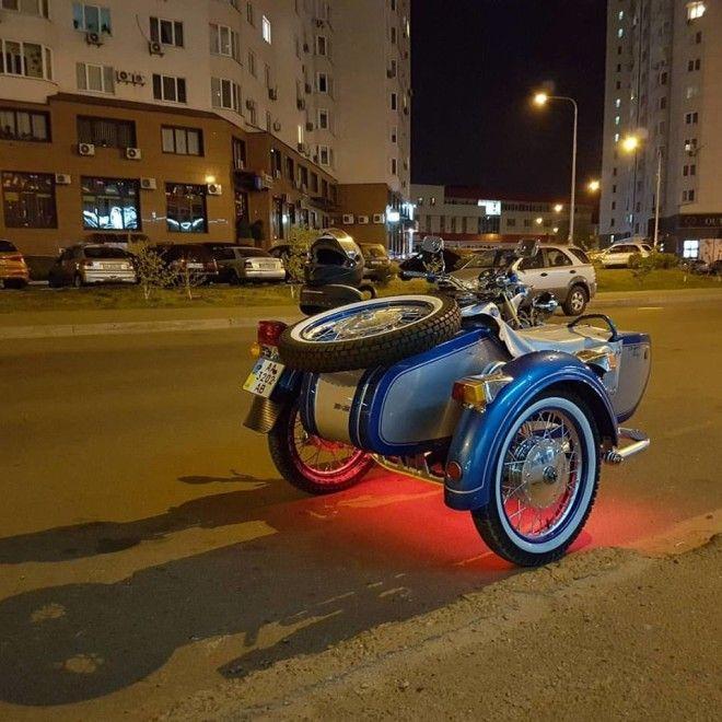 Реклама Dnepr Vintage представят в рамках автофестиваля Old Car Land. Все мотоциклы собраны вручную