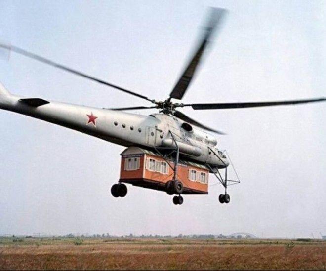 Летающий кран Ми-10