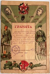 1934 г. ОСОАВИАХИМ