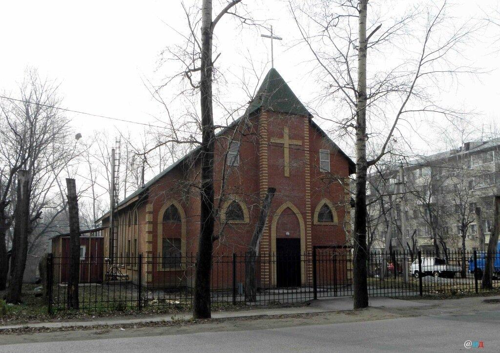 храм на поселке горького