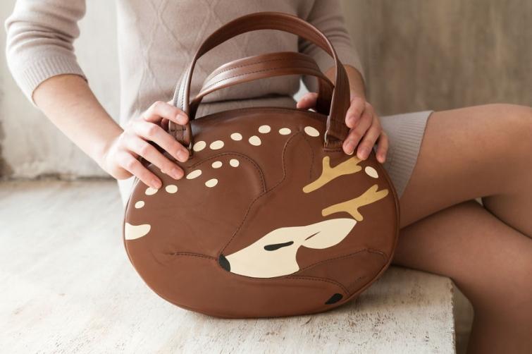 От лисы до тыквы: прелестные сумки от российских дизайнеров