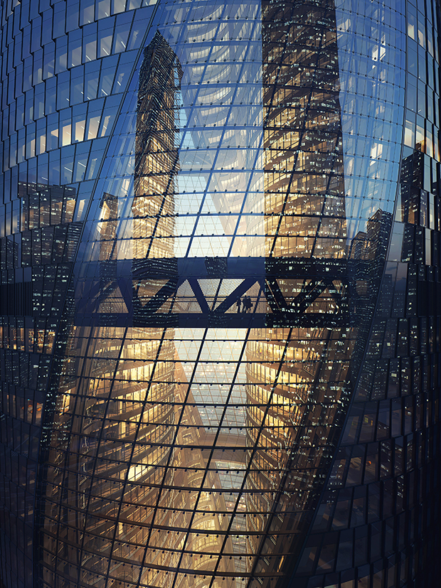 Leeza SOHO Tower by Zaha Hadid Architects