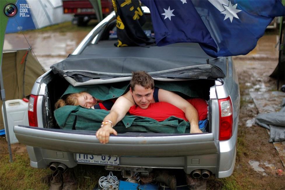 фестиваль Deni Ute Muster в городке Дениликин, на юго-востоке Австралии