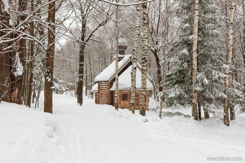 Церковь Покрова Пресвятой Богородицы из села Зеленое, Щелоковский хутор