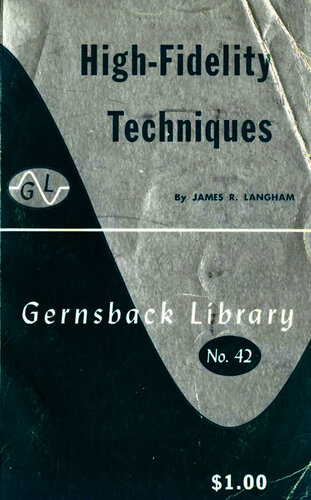 High Fidelity Techniques - James Langham - Book Cover
