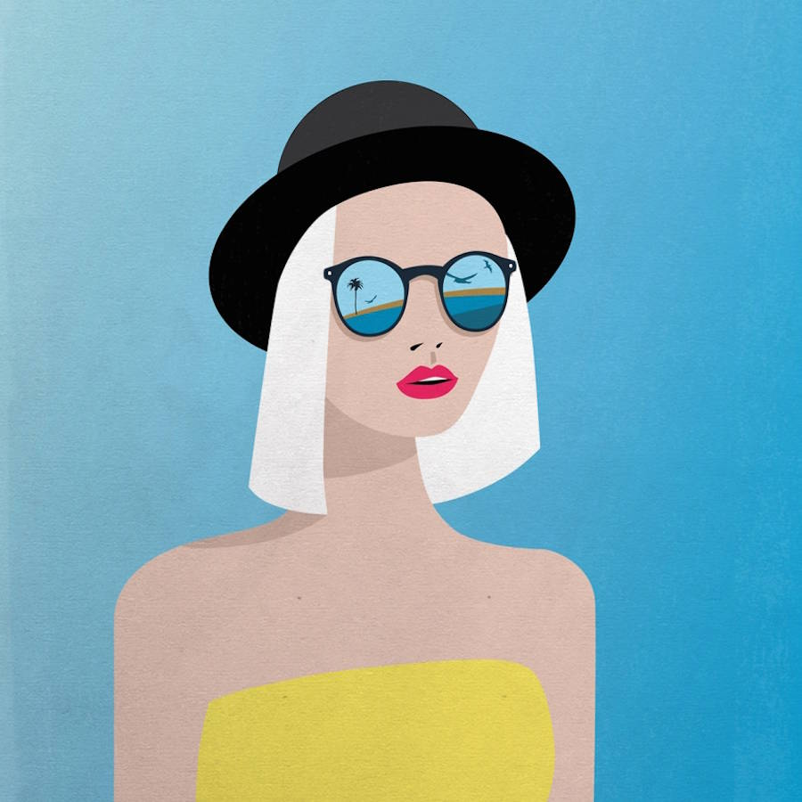 Pop and Colorful Illustrations by Irina Kruglova