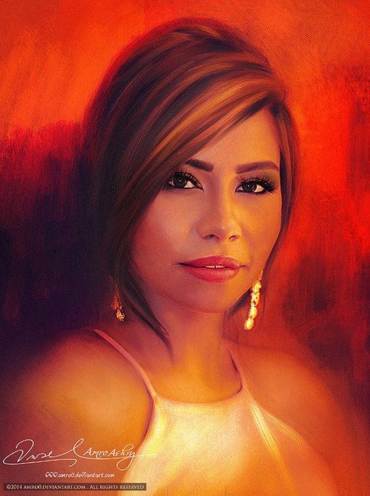 Digital Portraits by Amro Ashry