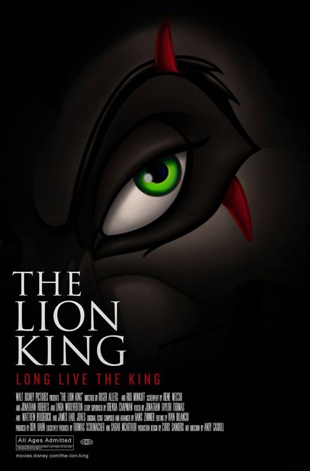 Dramatic Disney - Quand Disney imagine des affiches serieuses pour ses propres films…