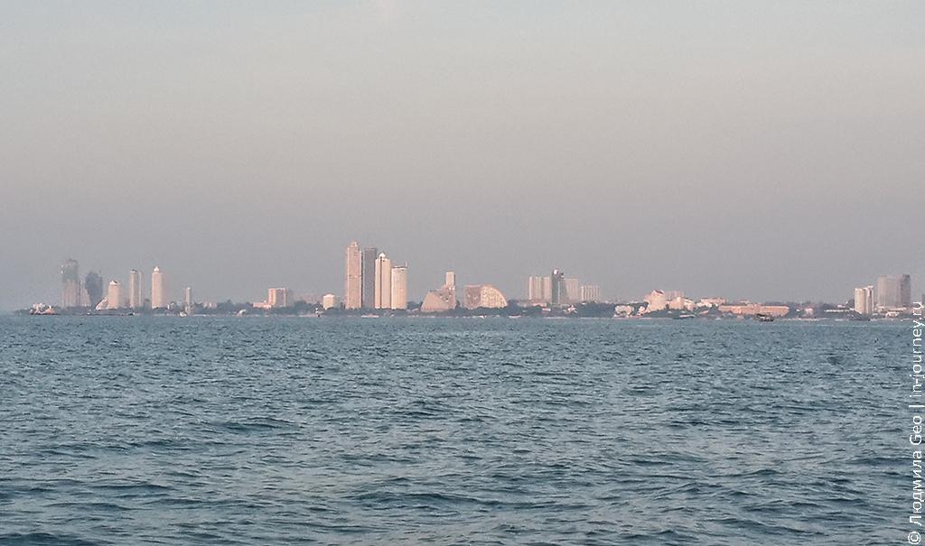 Паттайя фото с моря