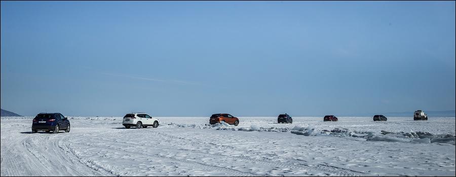 Nissan на льду