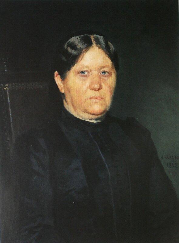 Портрет Н.М.Харитоненко   1892    ГТГ.