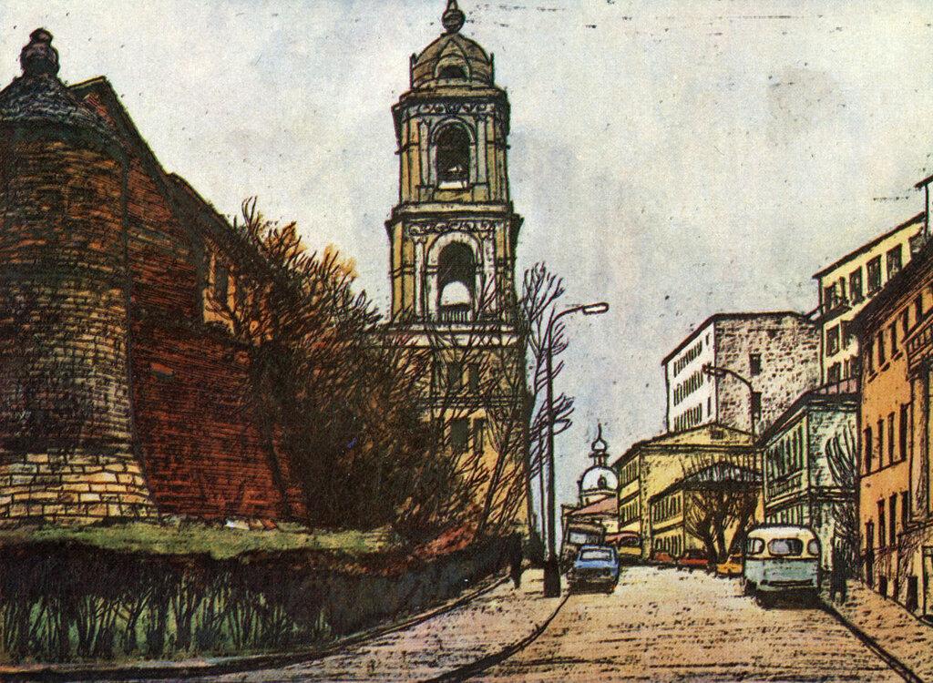 587164 Рождественский монастырь. Улица Жданова.jpg