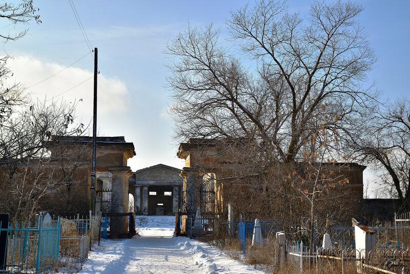 Старое кладбище г. Волжский