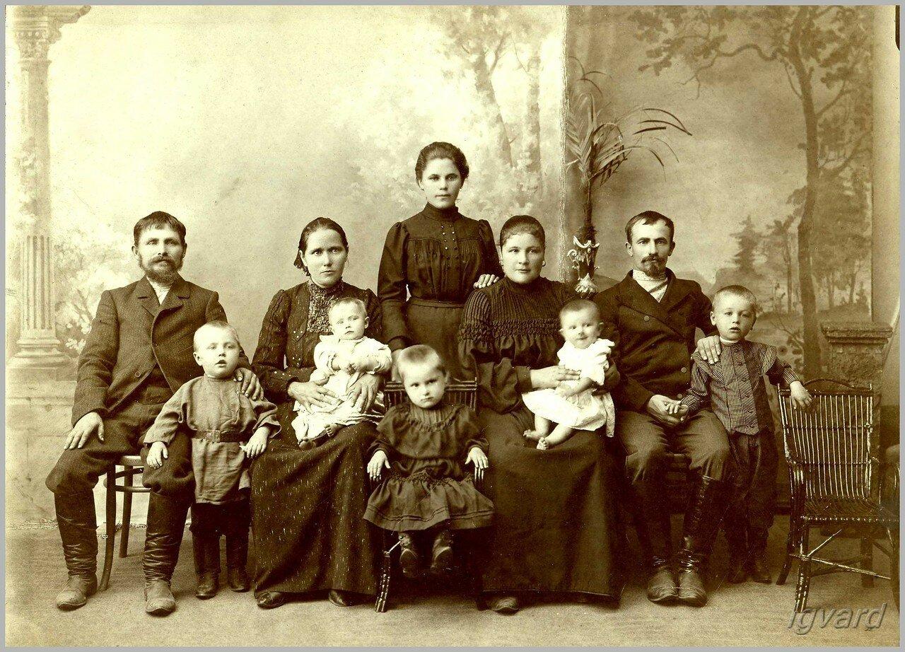 Семья Педан. 1906