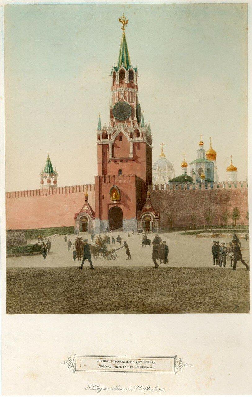 Спасские ворота в Кремле