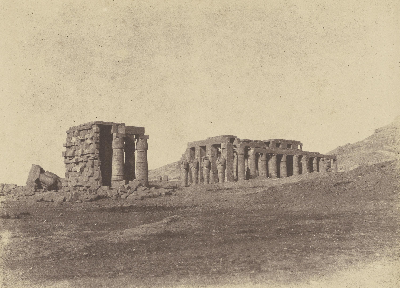 Фивы. Храм Рамессеум