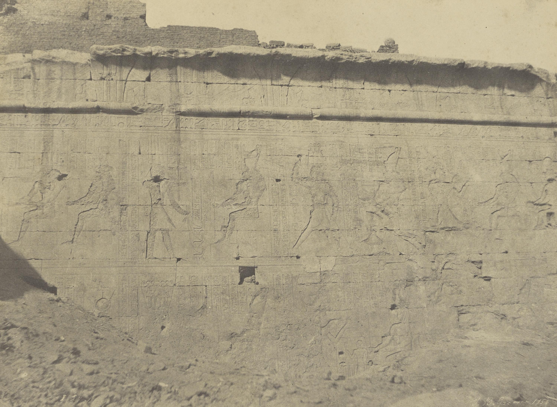 Эдфу. Рельефы и надписи восточной стены
