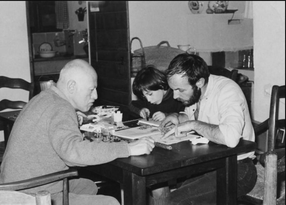 1970. Вилли Рони с семьей