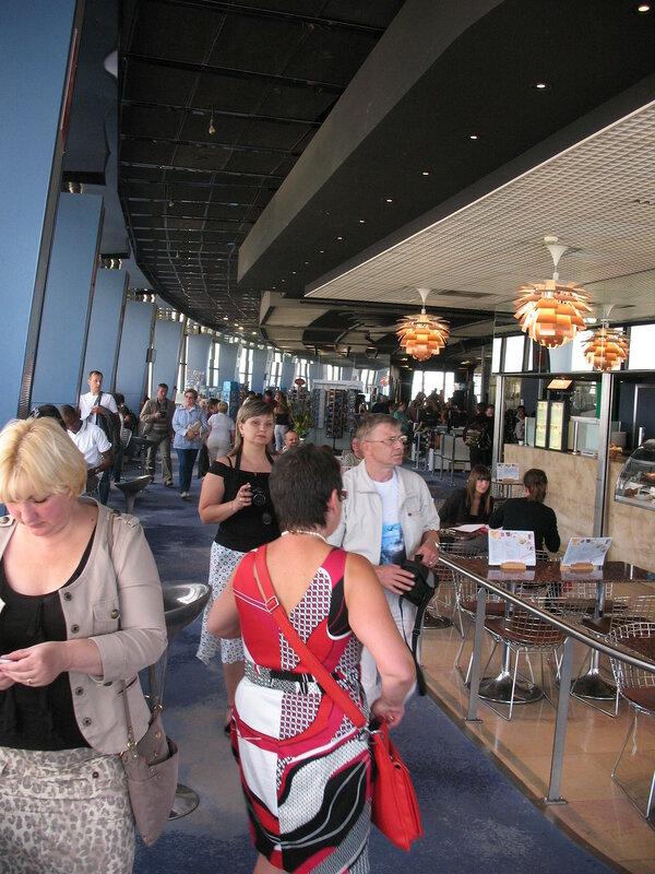 Монпарнас, 56 этаж, смотровая площадка