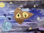 Рясова Анна (рук. Новоселова Светлана Михайловна) - Полет на Луну